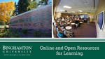 Online and Open Resources for Learning by Center for Learning and Teaching van Putten