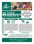 Online and Open Resources for Learning - 8 Take Aways