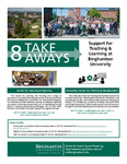 Support for Teaching & Learning at Binghamton - 8 Take Aways by Center for Learning and Teaching (CLT)