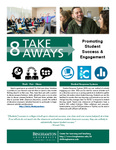 Promoting Student Success & Engagement - 8 Take Aways by Center for Learning and Teaching (CLT)