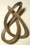 Stainless Steel 3-Sided Figure 8 Knot, Figure 1