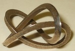 Stainless Steel 3-Sided Figure 8 Knot, Figure 2