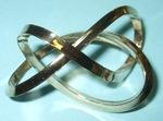 Bronze Mobius Figure 8 Knot, Figure 1