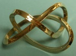 Bronze, Mobius Figure 8 Knot, Figure 2