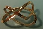 Bronze Mobius Figure 8 Knot, Figure 3