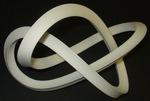 Large Plastic Mobius Figure 8 Knot