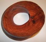 Brazillian Wood Torus Sculpture, Figure 5 (Brown)