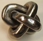 Iron Borromean Rings Sculpture, Figure 1