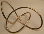 Bronze Rod Figure 8 Knot, Figure 1