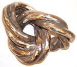 Bronze Triple Orbit Trefoil, Figure 1