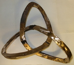 Bronze Hypocycloid Trefoil