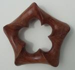 Bobinga Wood Pentagonal Torus, Figure 1