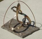Bronze Figure 8 Knot with Granite Base, Figure 2
