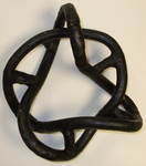 Wax Alternating Torus Knot