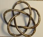 Bronze (3,5) Torus Knot, Figure 1