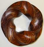 Cocobolo Wood (4,5) Torus Knot, Figure 2
