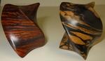 Cocobolo and Striped Ebony Twist, Figure 1