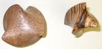 Claro Walnut and Zebrawood Twists, Figure 2
