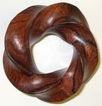 Cocobolo Wood (4,5) Torus Knot. Figure 4