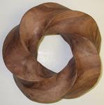 Timborana Wood Torus Knot, Figure 1