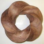 Timborana Wood Torus Knot, Figure 2