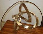 Bronze Figure 8 Knot, Figure 9 (with base)