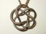 Stainless Steel Tubular (3,5) Torus knot