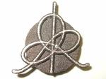 Bronze IHES Logo Lapel Pin