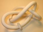 Plastic Figure 8 Knot and Sliding Torus