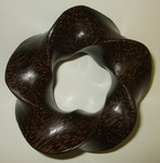 Black Palm (3,5) Torus Knot by Alex J. Feingold