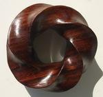 Cocobolo Wood (4,5) Torus Knot, Figure 7