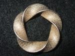 Stainless Steel Python Mobius (3,5) Torus Knot Pendant