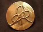 Bronze IHES Logo Lapel Pin, Figure 3