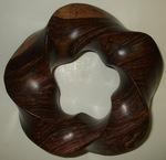 Cocobolo Wood Torus (3.5) Knot, Figure 2
