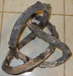 Bronze Figure 8 Knot (unpolished)
