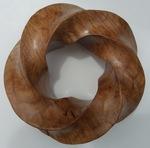 Maple Burl 4,5 Torus Knot, Figure 2