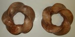 Big Leaf Maple Burl Wood (3,5) Torus Knot, Figure 1 by Alex J. Feingold
