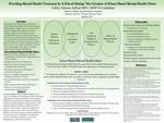 Providing Mental Health Treatment In A School Setting: The Creation of School Based Mental Health Clinics