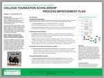 College Foundation Scholarship Process Improvement Plan